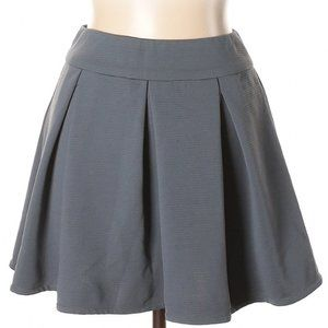 [a39-17] The Limited | box pleated skirt